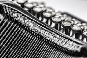 teclas maquina de escribir