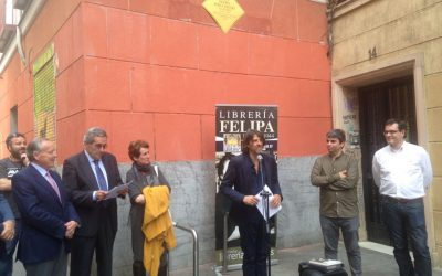 Placa conmemorativa a doña Felipa Polo Asenjo