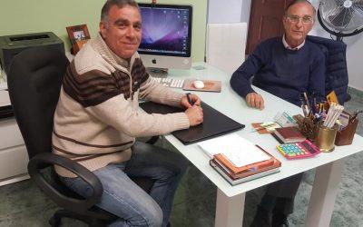 Reunión con un autor